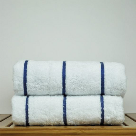 Chakir Linen Striped Turkish Cotton Towel