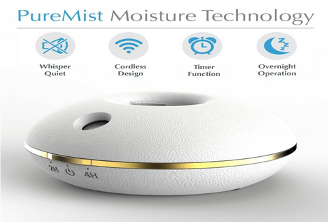 Fancii Portable Mini Travel Humidifier
