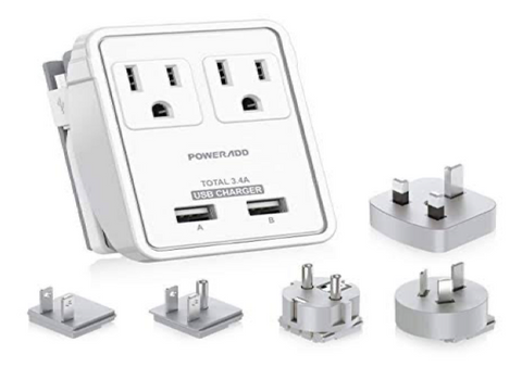 Poweradd Travel Adapter Kit