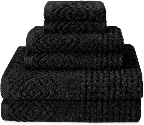 Texere Organic Cotton Jacquard Bath Towels