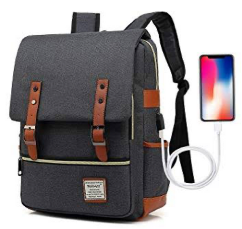 Ugrace Vintage Laptop Travel Backpack