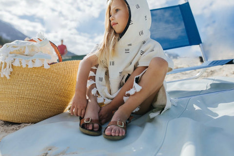 Raya Poncho Hooded Towel by Kindhood