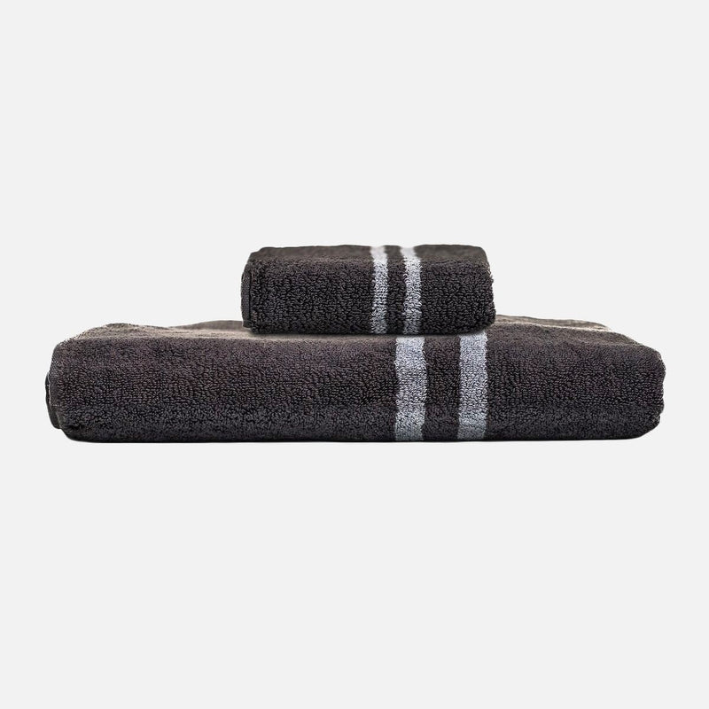 Mizu Antibacterial Smart Towel Set - Black