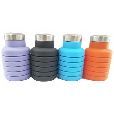 Hiking Action Collapsible Water Bottle