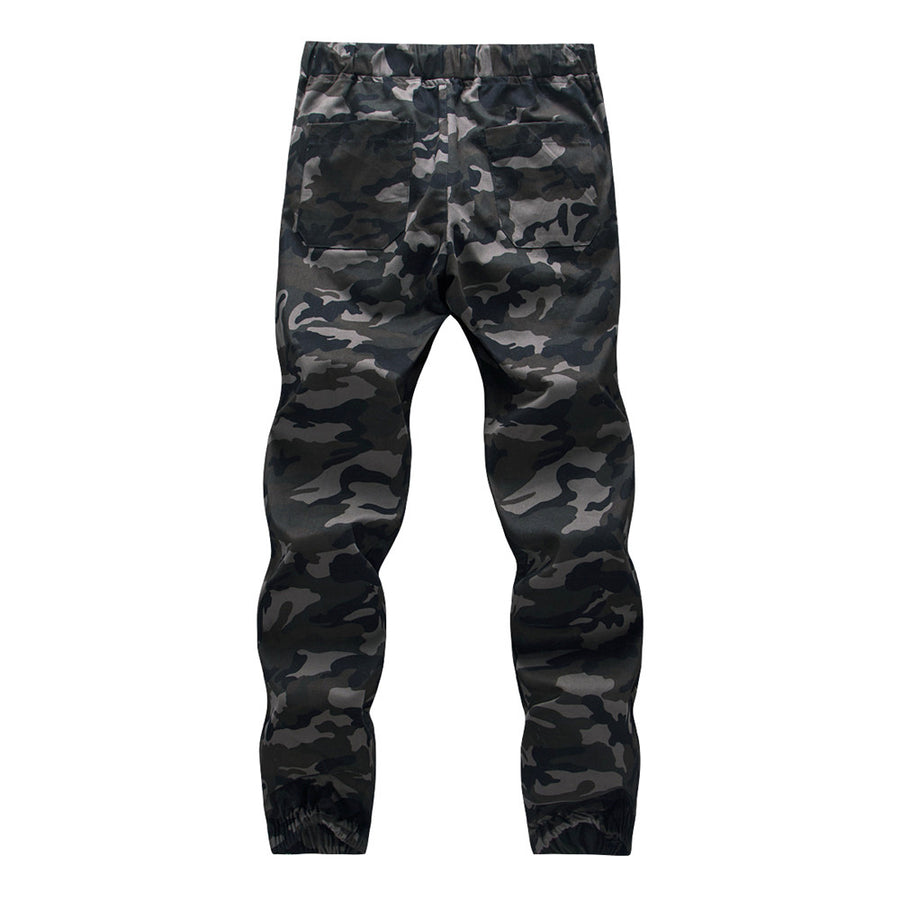 Camo Hiking Trousers Joggers