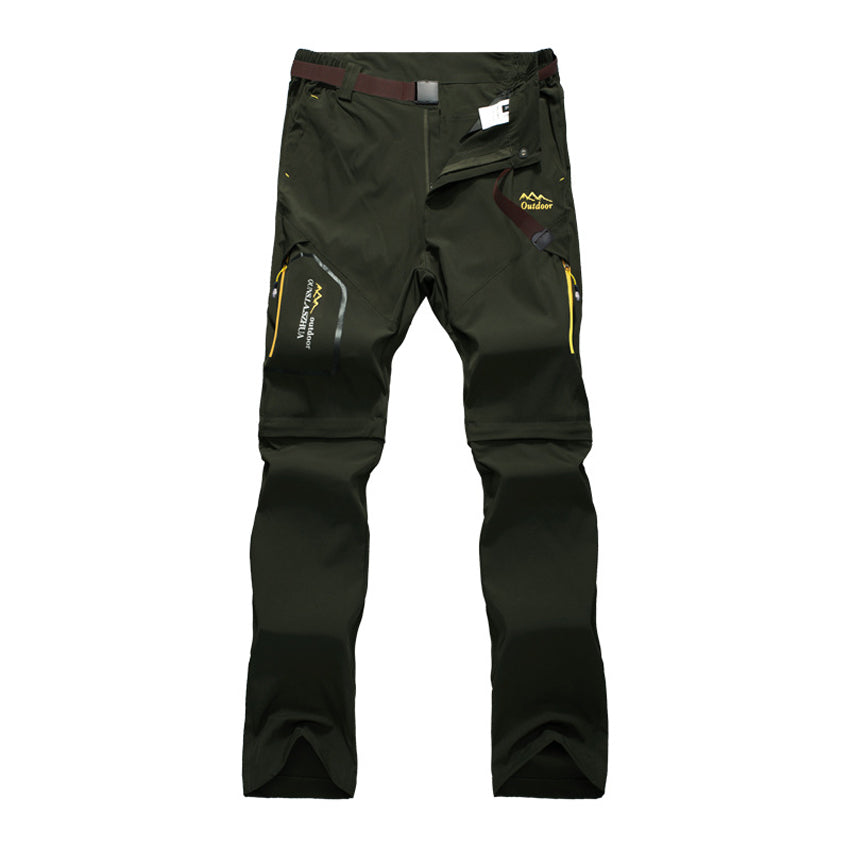Hiking Action Men's Zip-Off Trekking Pants