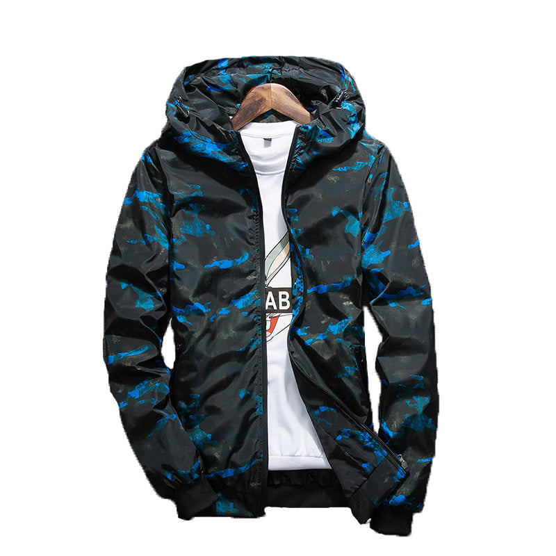Camouflage Waterproof Hiking Jacket