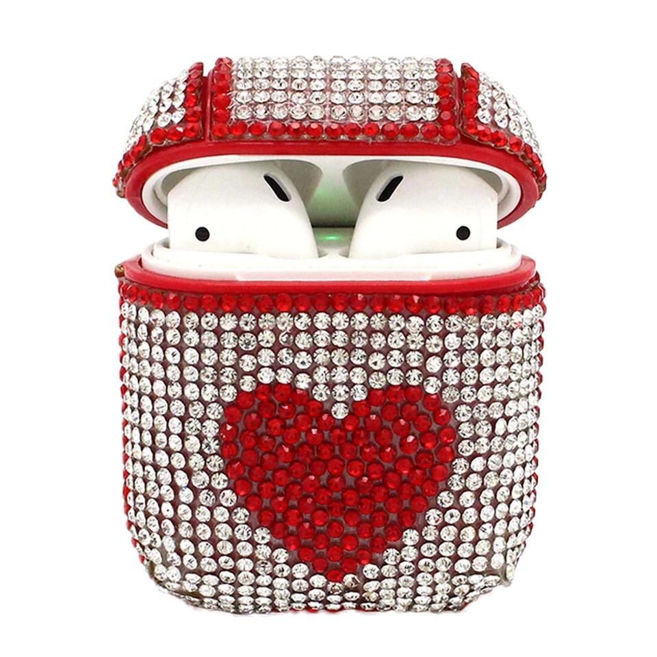 Airpods Protective Case in Jewel Studs