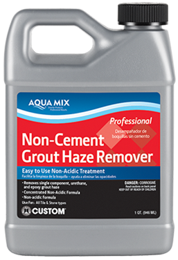 Aqua Mix Non-Cement Grout Haze Remover