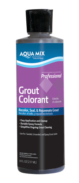 Aqua Mix Grout Colorant - 8 oz Bottle