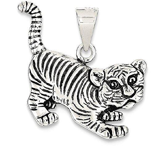 Mindful Jewels- Tiger Pendant representing Meek