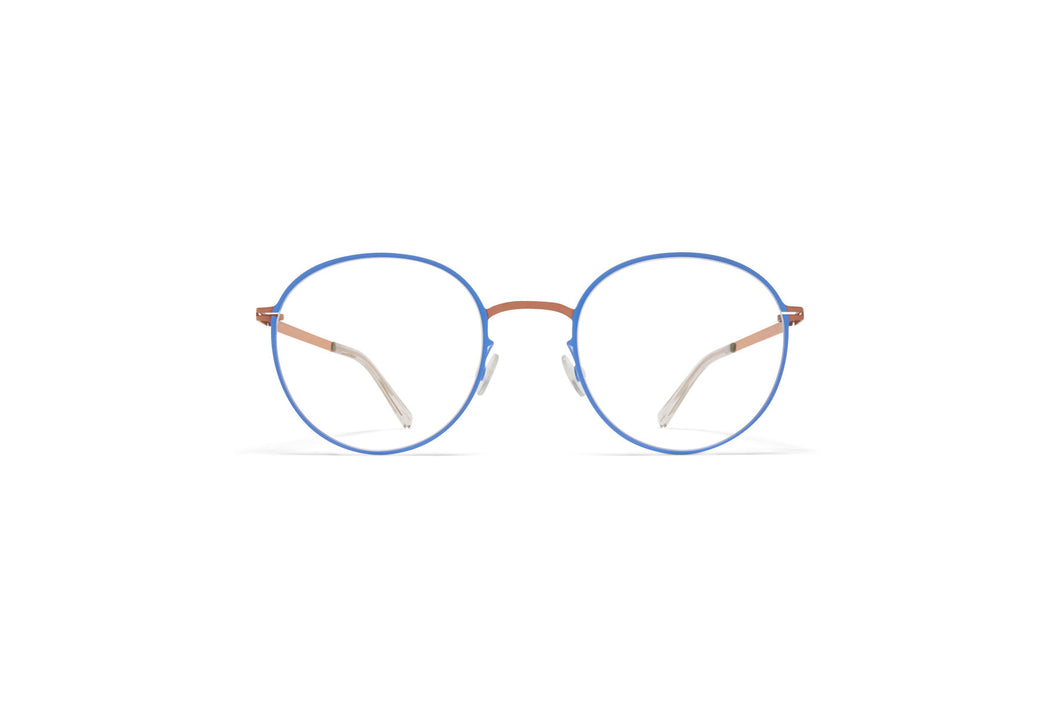 Mykita 'Vabo' in Shiny copper/blue