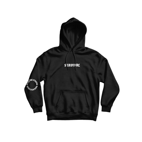 Survival Black Hoodie + Digital Album