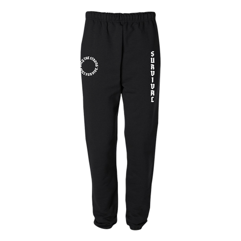 Survival Black Joggers + Digital Album