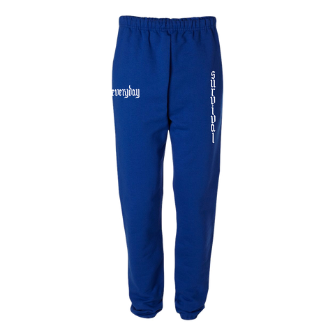 Survival Blue Joggers + Digital Album