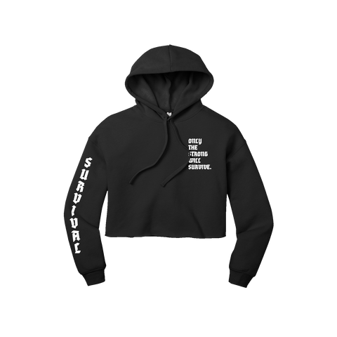 Survival Crop Hoodie + Digital Album