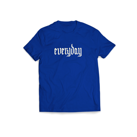 Everyday Blue Tee + Digital Album