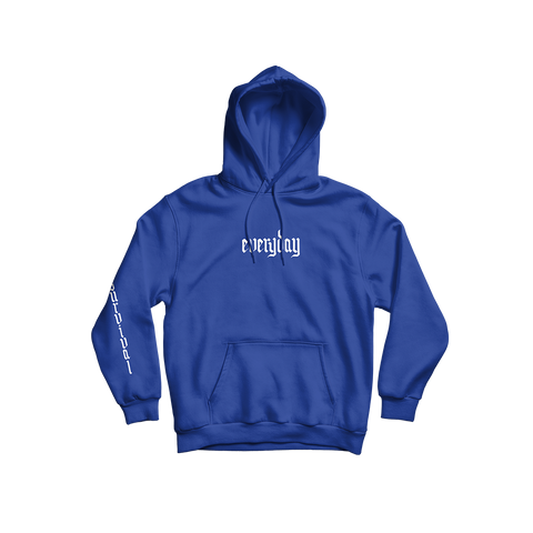 Everyday Blue Hoodie + Digital Album