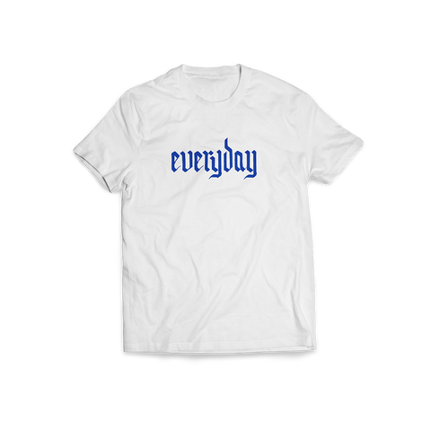Everyday White Tee + Digital Album