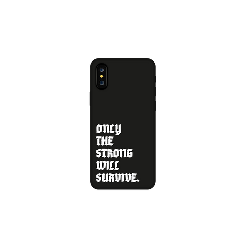 Black Survival iPhone Case + Digital Album