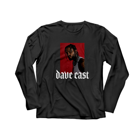 Dave East Black Longsleeve + Digital Album