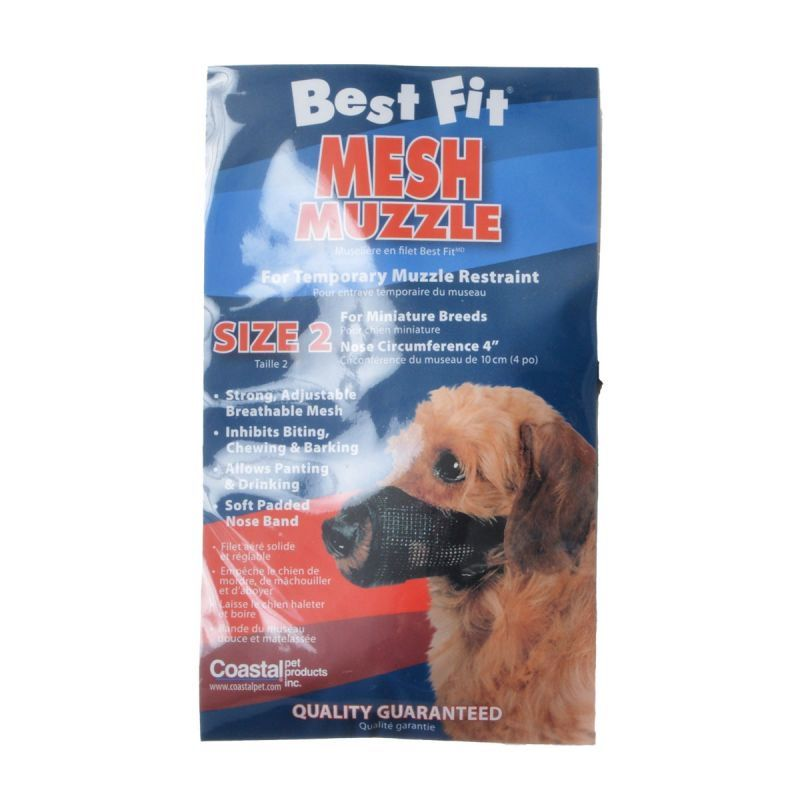 Nylon Fabridog Best Fit Muzzle