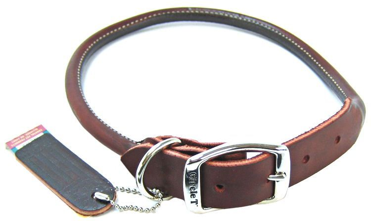 Circle T Latigo Leather Round Collar