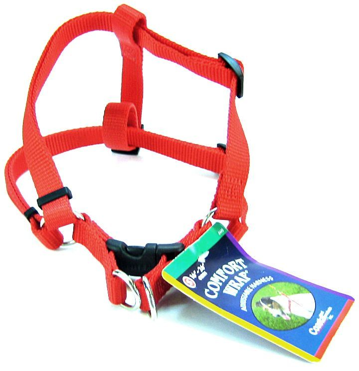 Coastal Pet Comfort Wrap Adjustable Harness - Red