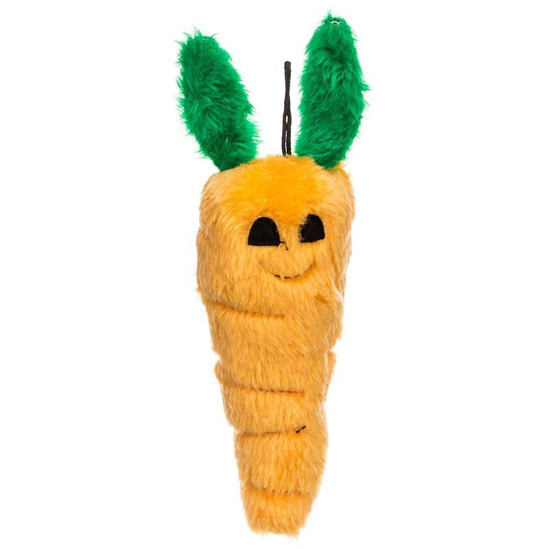 Booda Soft Bite Carrot Dog Toy