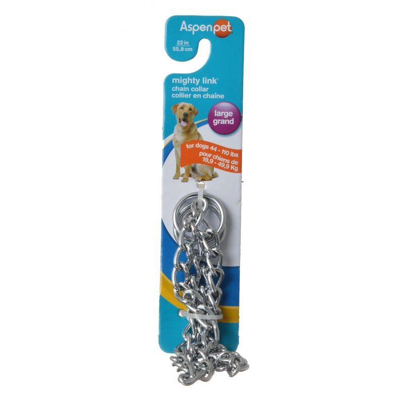 Aspen Pet Choke Chain - Heavy