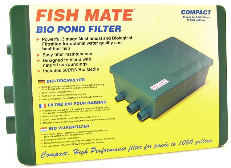 Fish Mate Compact bio Pond Filter
