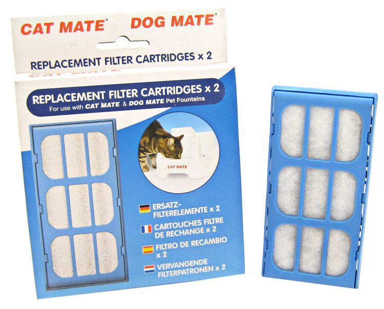 Cat Mate Replacement Filter Cartridge for Pet Fountain