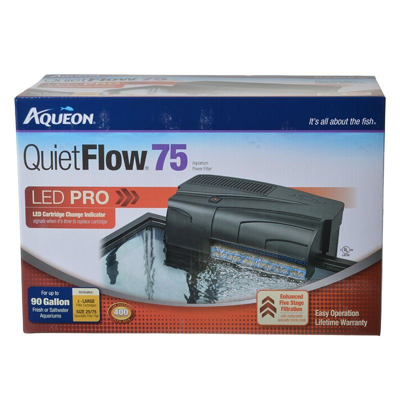 Aqueon QuietFlow LED Pro Power Filter