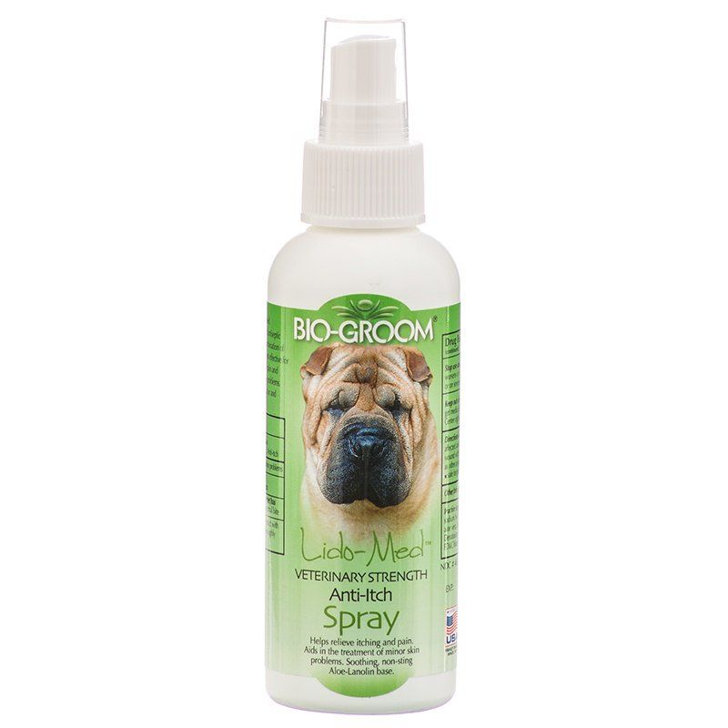 Bio Groom Lido Med Anti Itch Spray