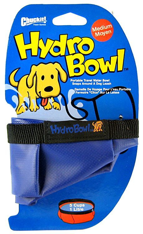 Chuckit Hydro-Bowl Travel Water Bowl