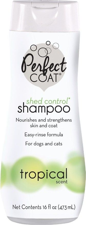 Perfect Coat Shed Control Shampoo - Tropical Scent