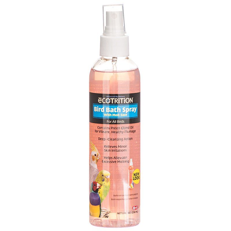 Ecotrition Bird Bath Spray with Molt Ease