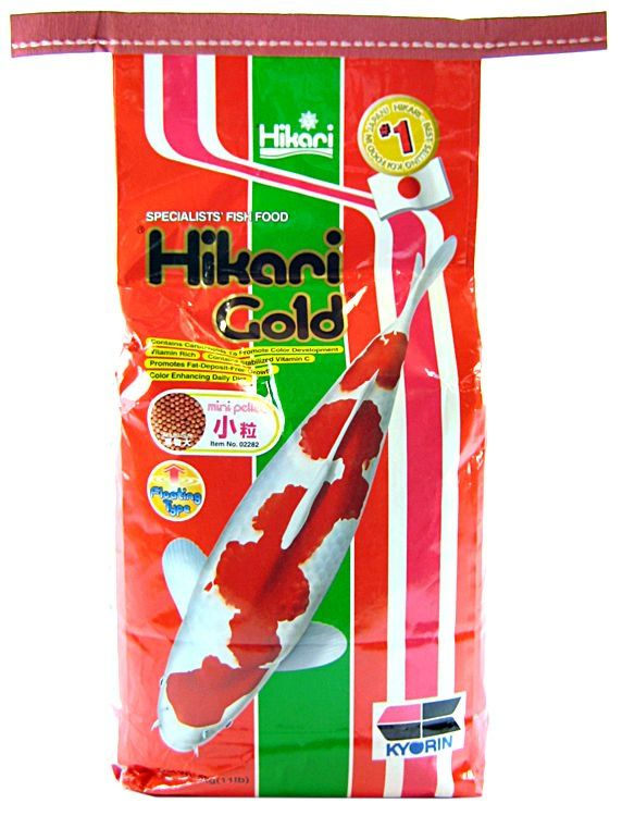 Hikari Gold Color Enhancing Koi Food - Mini Pellet