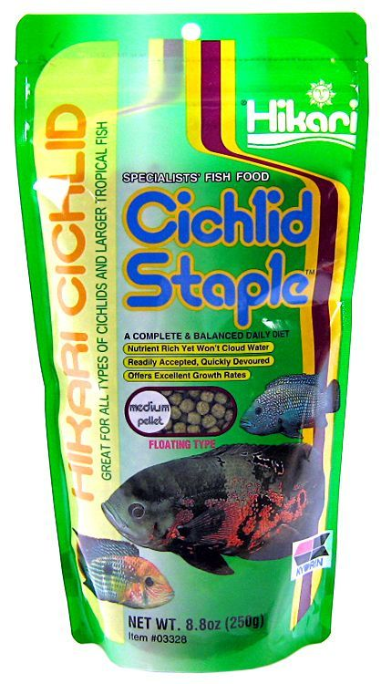 Hikari Cichlid Staple Food - Medium Pellet