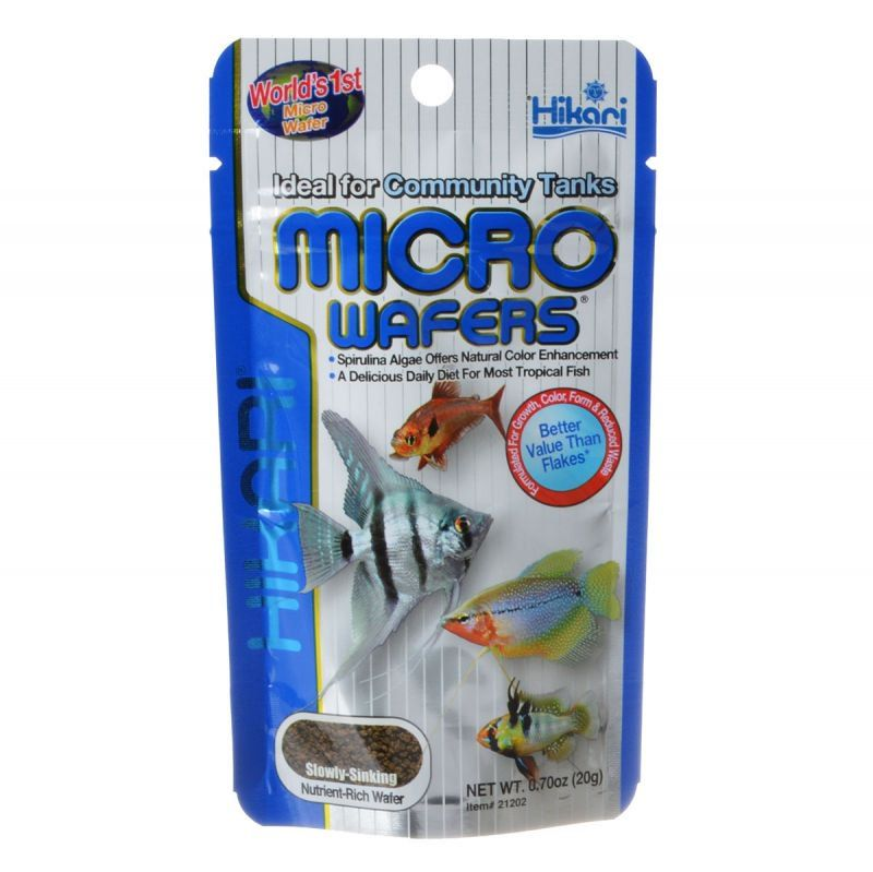 Hikari Micro Wafers for Small & Medium Size Tropical Fish