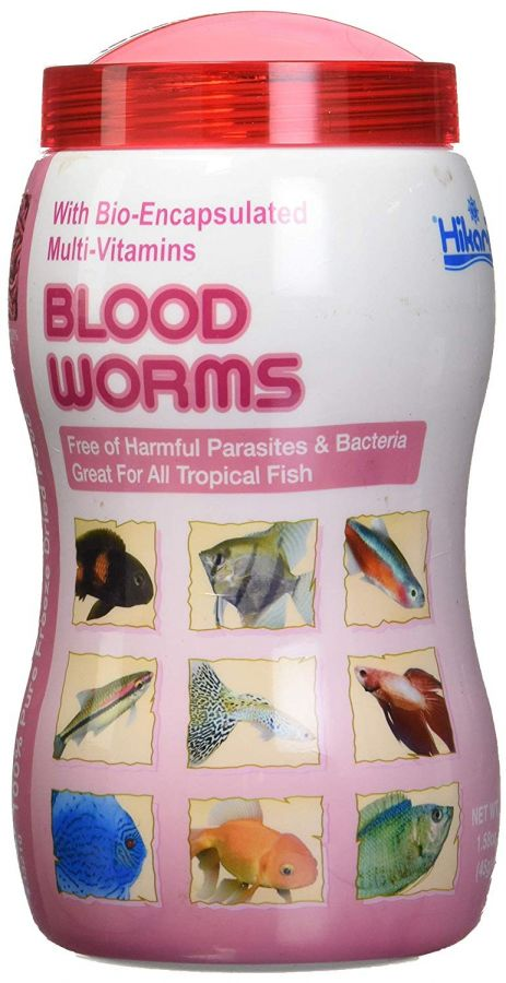 Hikari Bloodworms - Freeze Dried