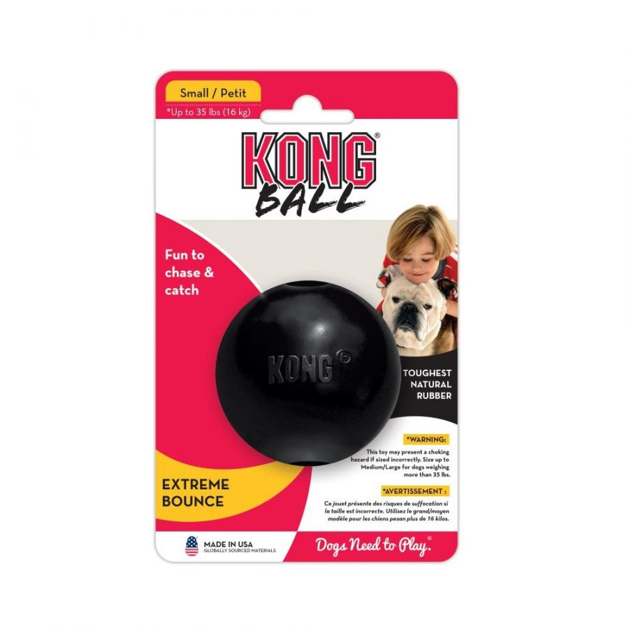 Kong Extreme Ball - Black