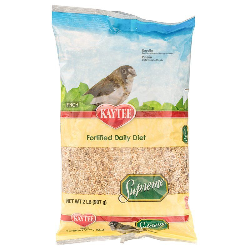 Kaytee Supreme Natural Blend Bird Food - Finch