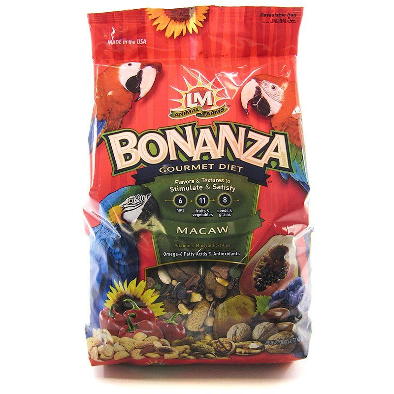 LM Animal Farms Bonanza Macaw Gourmet Diet