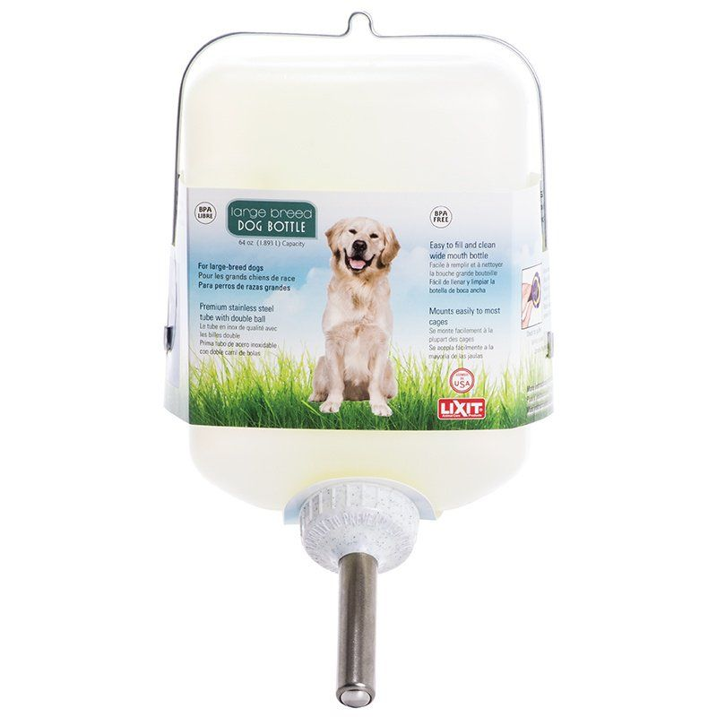 Lixit Plastic Dog Water Bottle with Tube