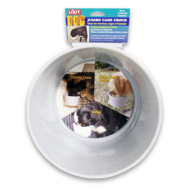 Lixit Quick Lock Crock Hanging Feeder