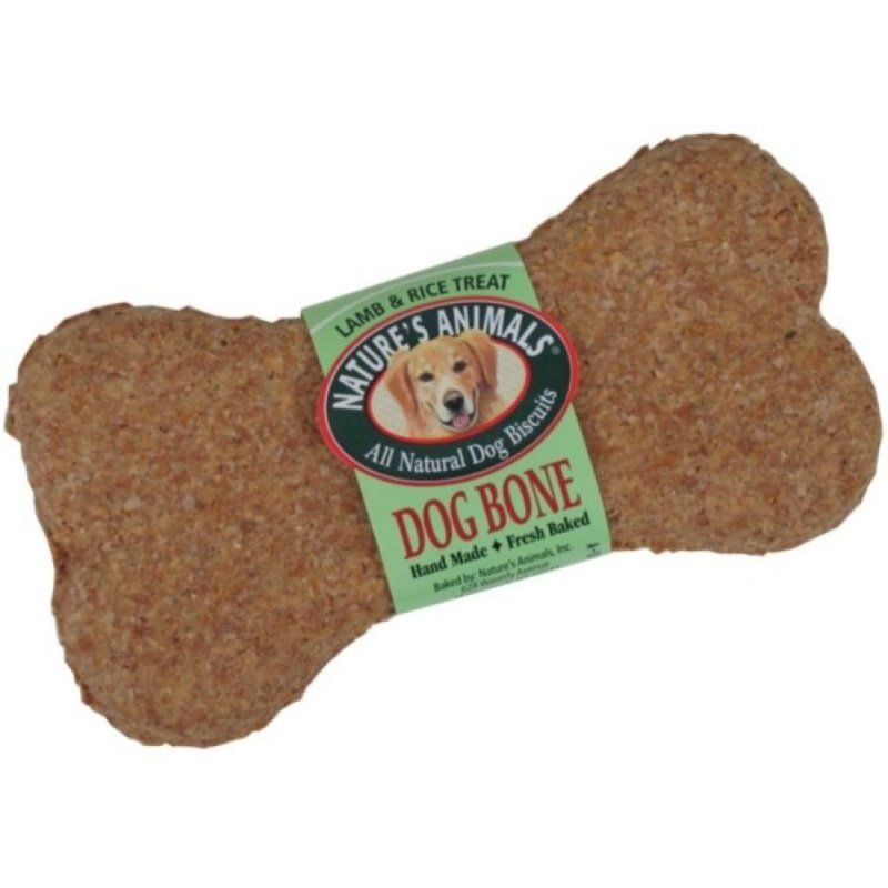 Natures Animals All Natural Dog Bone - Lamb & Rice Flavor