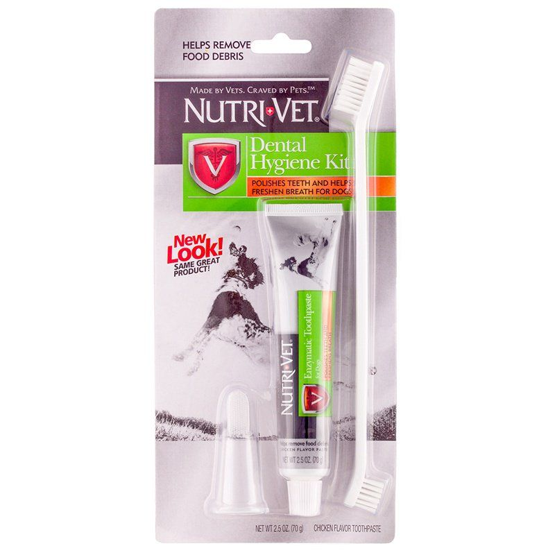 Nutri-Vet Dental Hygene Kit for Dogs