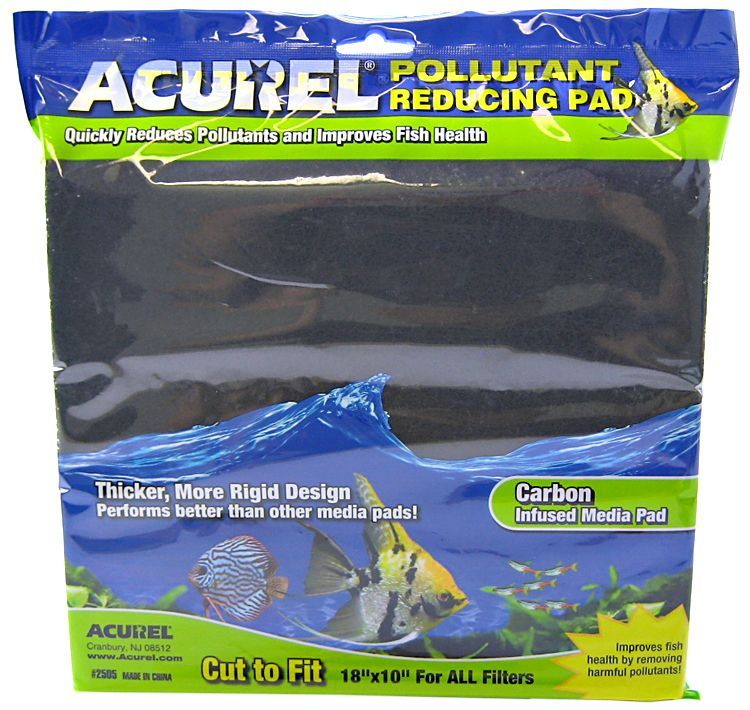 Acurel Pollutant Reducing Pad - Carbon Infused