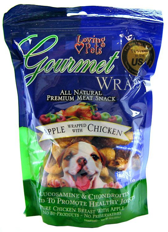 Loving Pets Gourmet Apple & Chicken Wraps